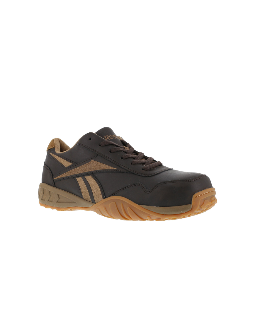 Men S Wide Low Profile Leather Athletic Shoes