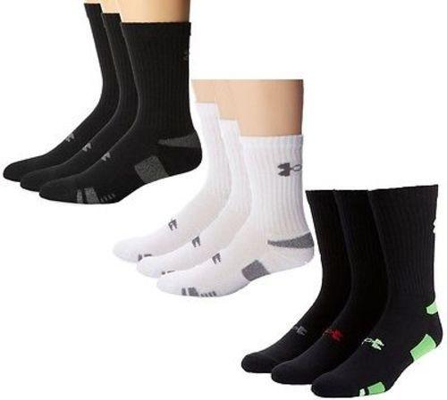 Under Armour HeatGear Crew Socks (3 Pair)