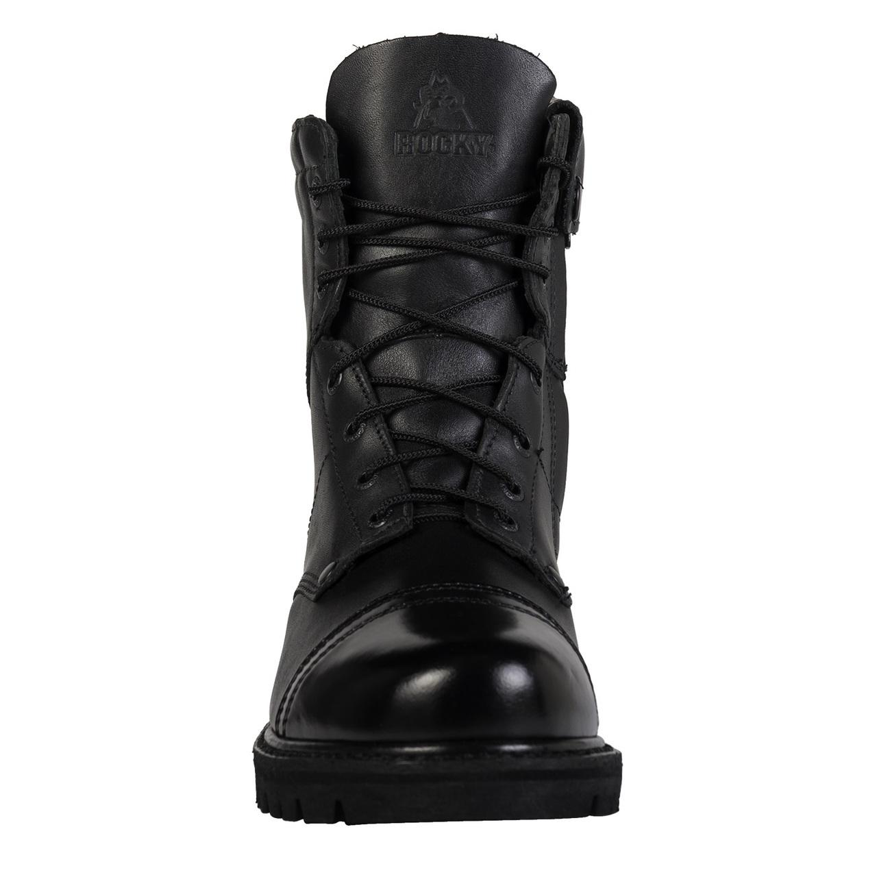 "Rocky 7"" Size-Zip Jump Boots"