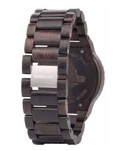 WeWood Kappa Black-Orange Watch