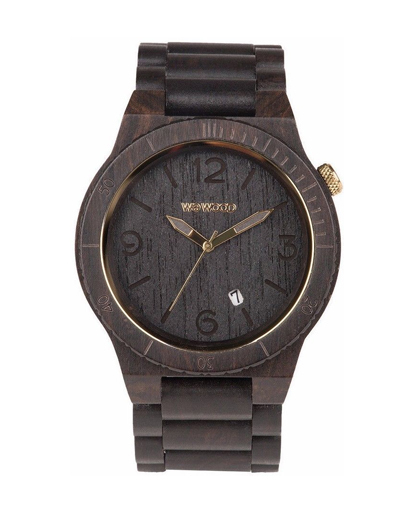 WeWood Alpha Black Gold Watch