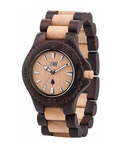 WeWood Date Chocolate Beige Watch