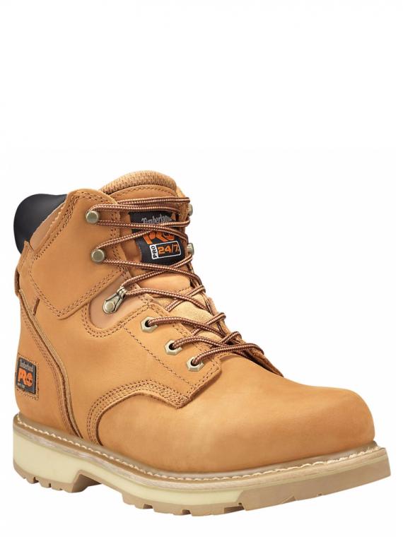 Timberland Pro Pit Boss 6″ Wheat Soft Toe Work Boots