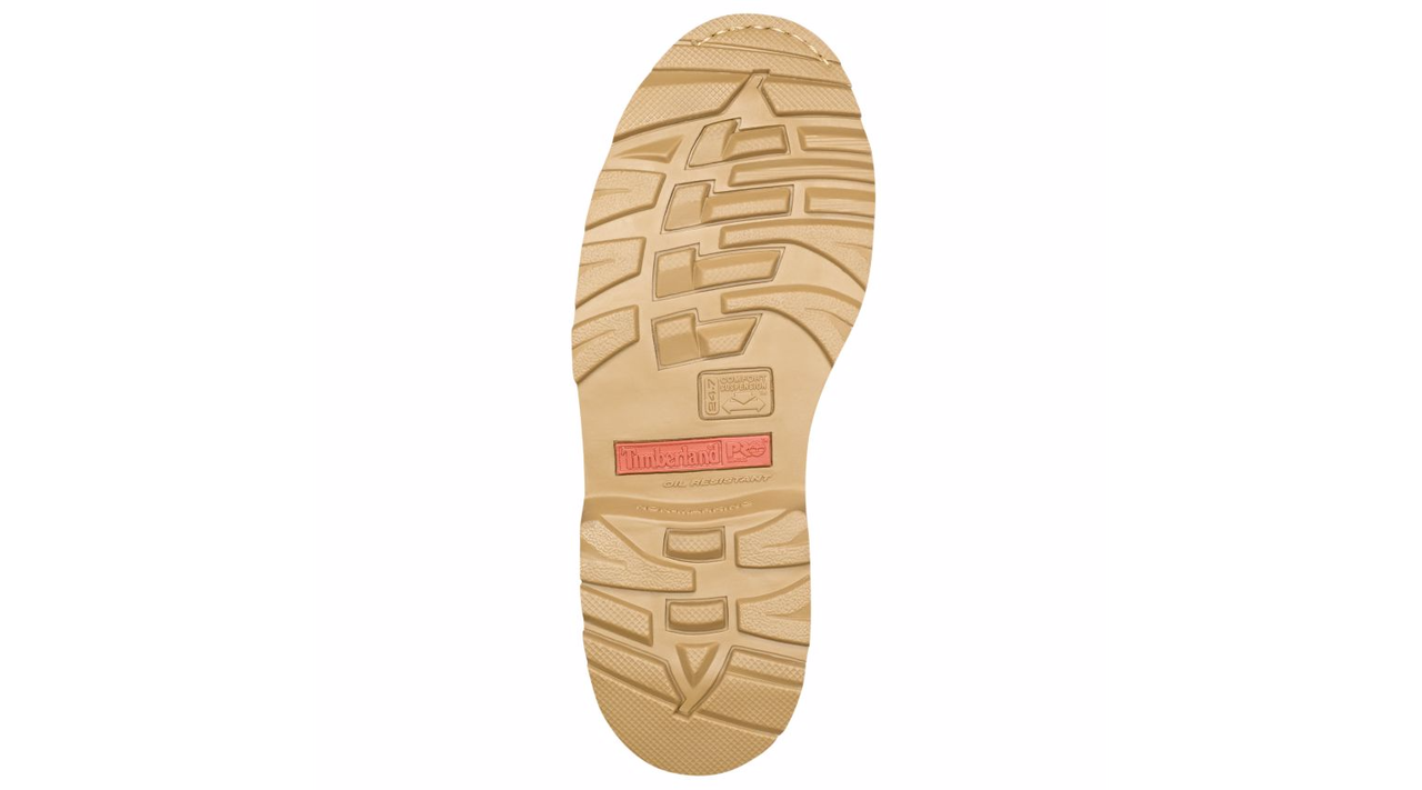 """Timberland Pro Pit Boss 6"""" Wheat Soft Toe Work Boots"""