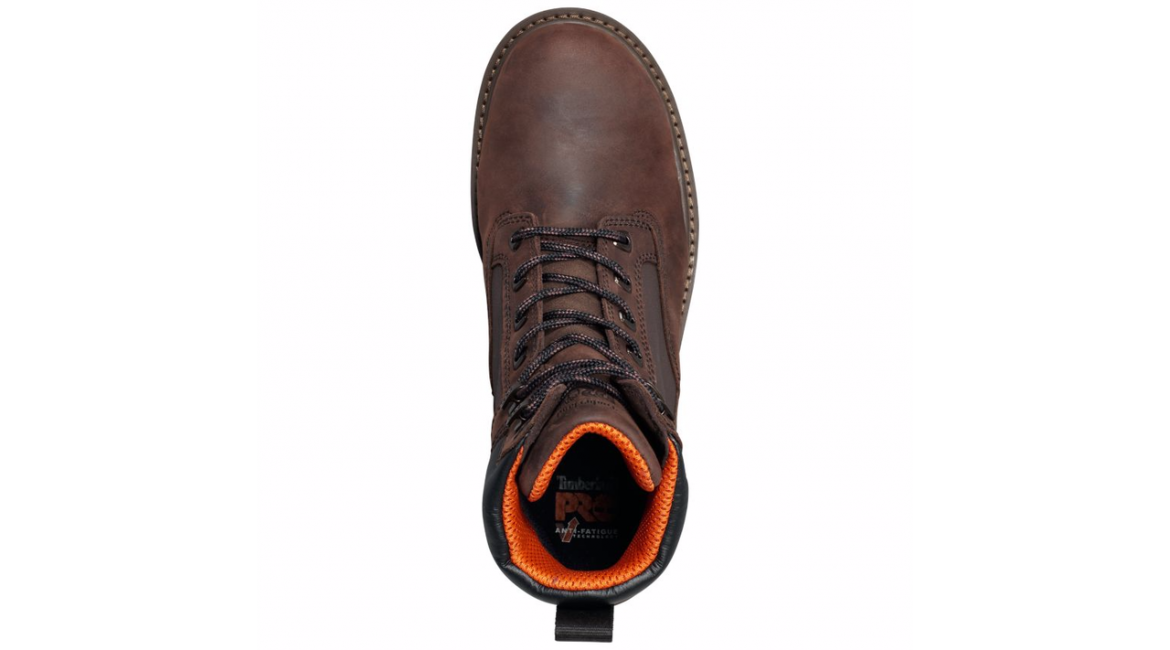 Timberland Pro Resistor 6″ Brown Comp Toe Work Boots