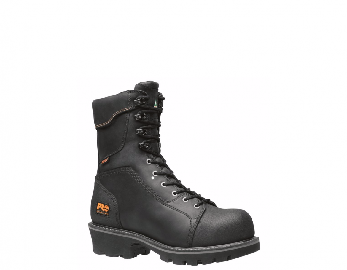 Timberland Pro Rip Saw 9 Quot Black Waterproof Comp Toe Logger