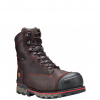"Timberland Pro Boondock 8"" Brown WI Comp Toe Work Boots"