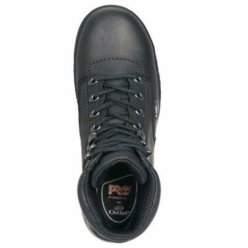 "Timberland Pro 6"" Titan Black Alloy Toe Work Boots"