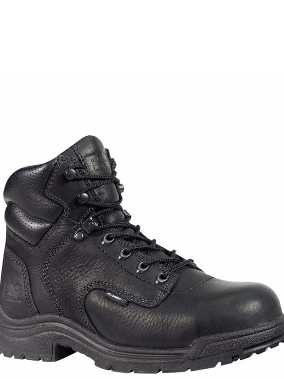 Timberland Pro 6″ Titan Black Alloy Toe Work Boots