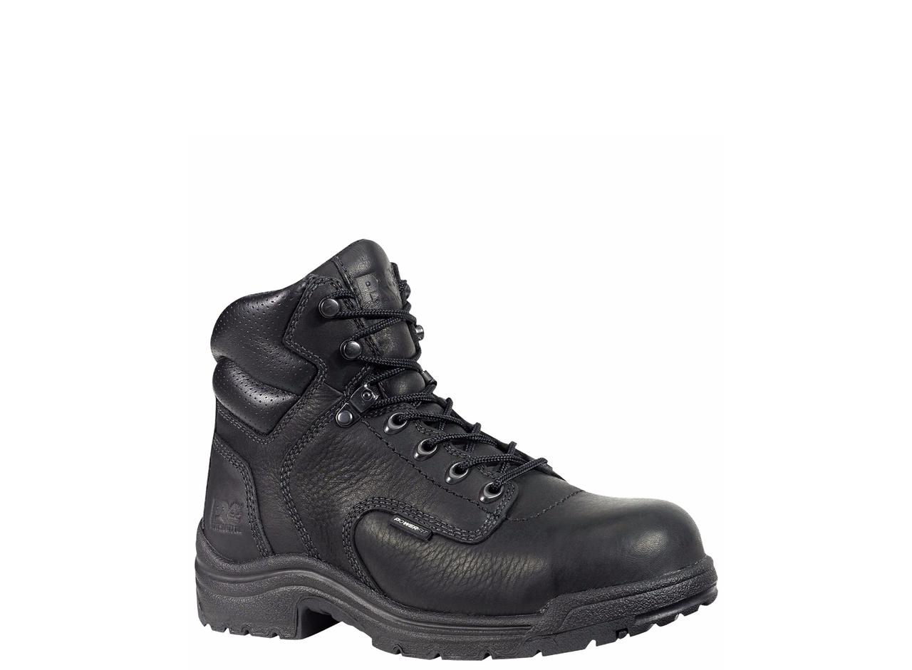 Timberland Pro 6″ Titan Black Alloy Toe Work Boots