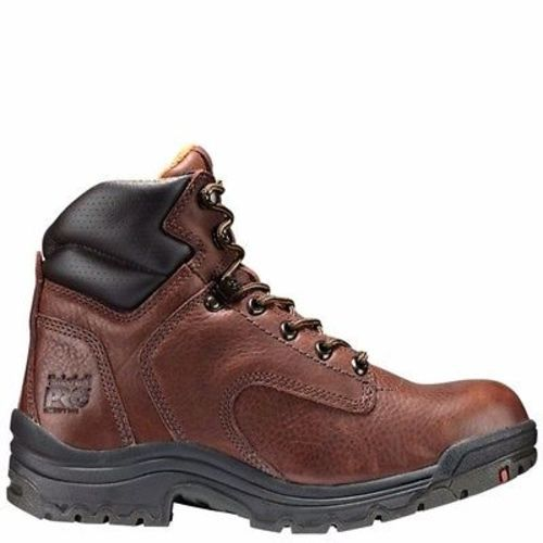 Timberland Pro 6″ Titan Coffee Full-Grain Soft Toe Work Boots