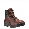"Timberland Pro 6"" Titan Coffee Full-Grain Soft Toe Work Boots"