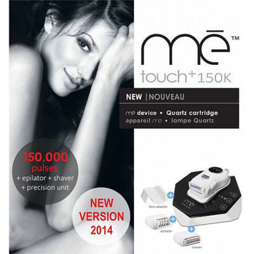 Me My Elos Super Touch with 150,000 Pulses + Shaver + Epilator