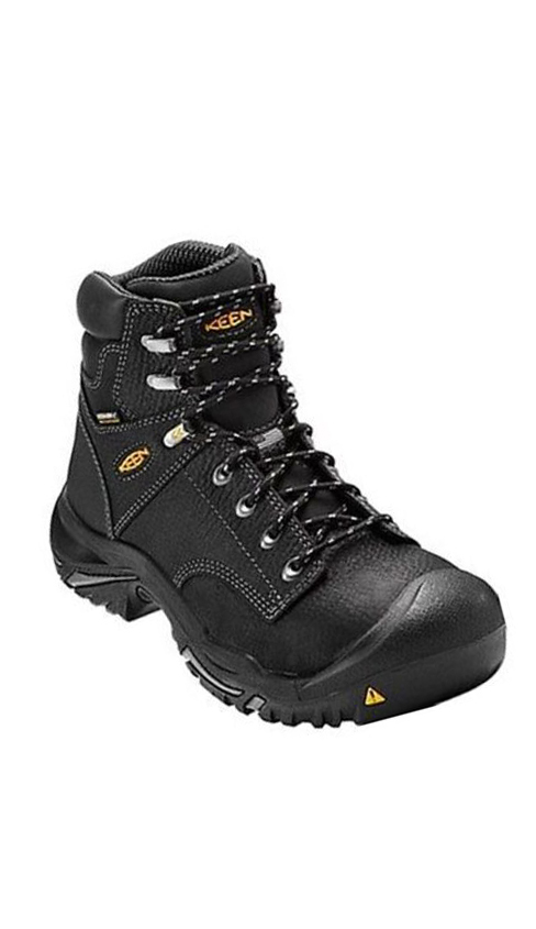 Keen MT. Vernon 6″ Waterproof Work Boots (BL)