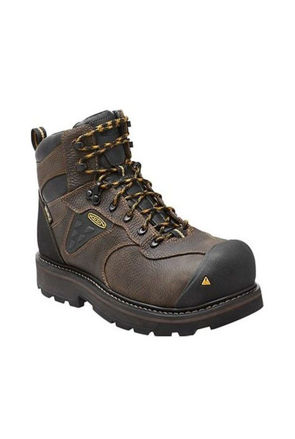 Keen Tacoma Cascade Brown/Olive Work Boots