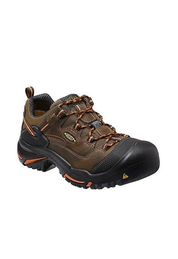 Keen Braddock Low Cascade Brown Work Boots