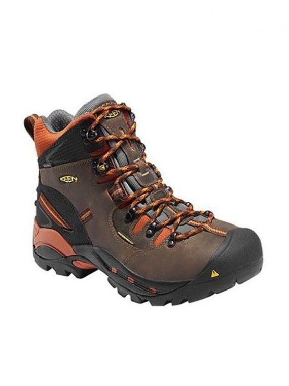 Keen Pittsburgh 6″ Cascade Brown Soft Toe Work Boots