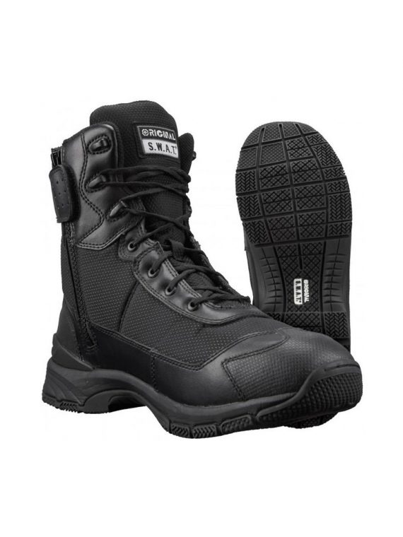 Original S.W.A.T H.A.W.K. 9″ Side Zip Tactical Boots