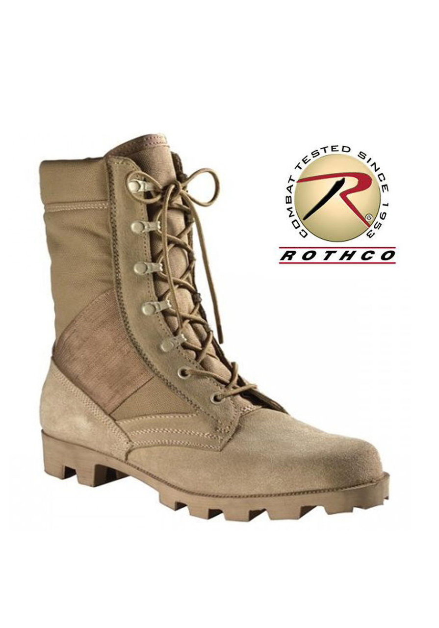 Rothco G.I. Type Speedlace Desert Tan Jungle Boots - Price-Breaker 1a4894773ad