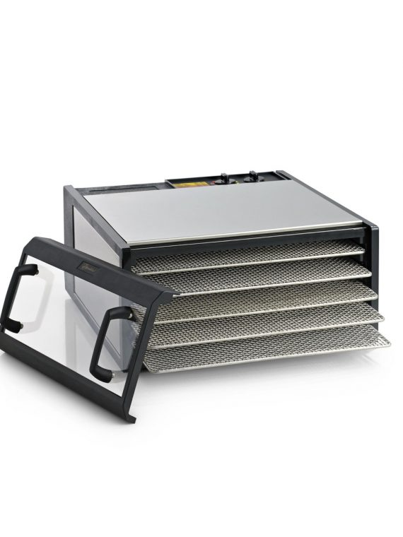 Excalibur Stainless Steel Food Dehydrator 5-Tray