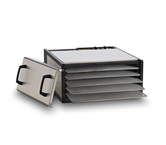 Excalibur Stainless Steel PT 5-tray Food Dehydrator