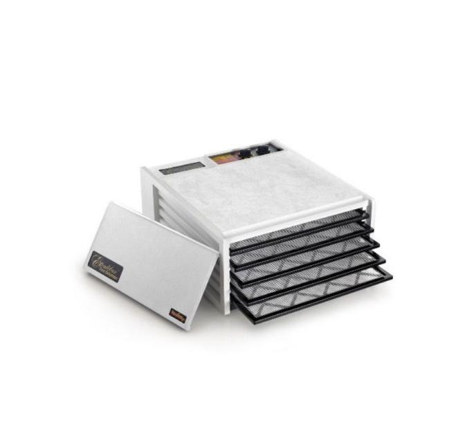 Excalibur White TM 5-tray Food Dehydrator