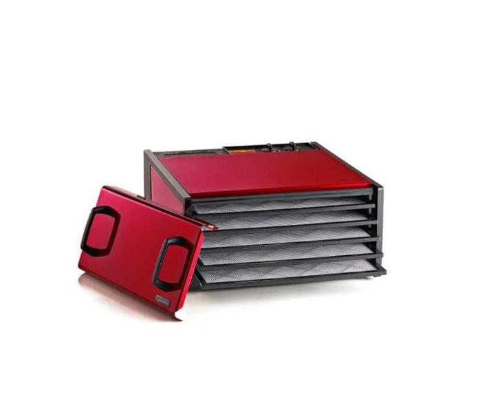 Excalibur Radiant Cherry TM 5-tray Food Dehydrator