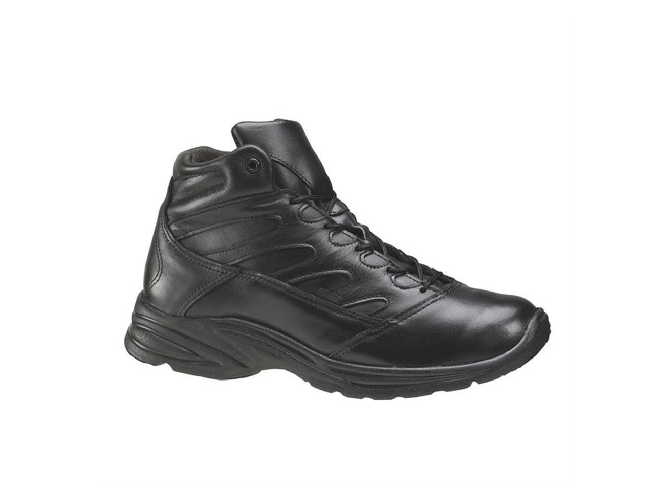 Thorogood 5 Quot Street Liberty Mid Cut Black Uniform Shoes