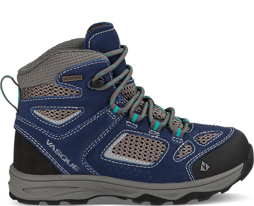 Vasque Breeze Iii Ultradry Kids Blue Hiking Boots Price